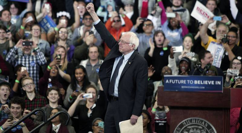 Primarie: Sanders vince Michigan, Trump batte Cruz 2 a 1