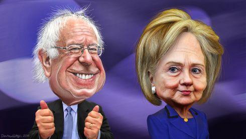 00160707Sanders-Hillary-vignetta