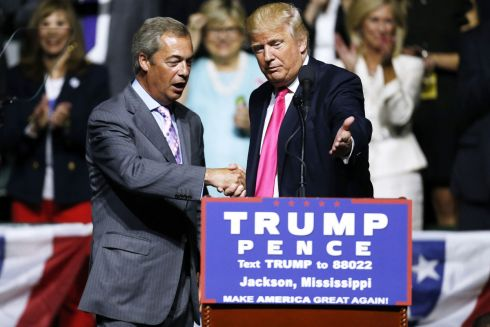 0161003Trump-Farage