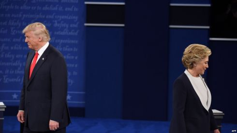 00161010Hillary-Trump-dibattito2